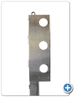 Stainless steel Gauge mounting